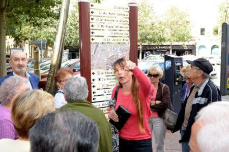 Sabine Holdrinet (guide accompagnatrice)
