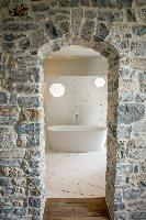 La salle de bain de la chambre Malachite