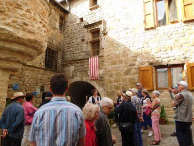 Visite guidée de la cité et du château de Sévérac (groupes)